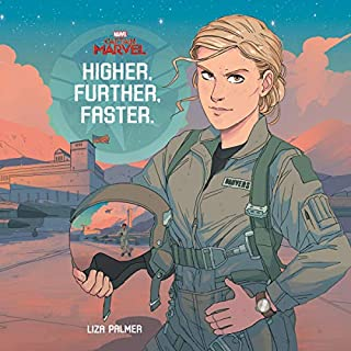 Captain Marvel: Higher, Further, Faster audiobook cover art