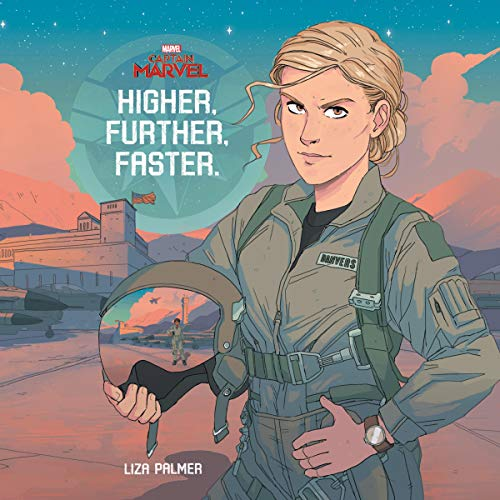 Captain Marvel: Higher, Further, Faster audiobook cover art