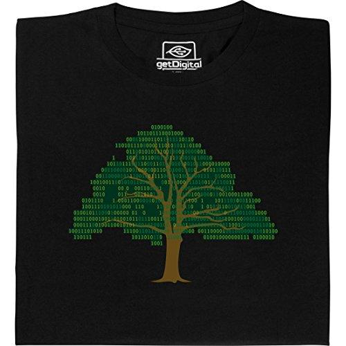 Binary Tree - Geek Shirt für Computerfreaks aus fair gehandelter Bio-Baumwolle, Größe L