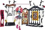 Mattel Monster High Freak du Chic Circus Scaregrounds & Rochelle Goyle Doll - muñecas (Multicolor, I...