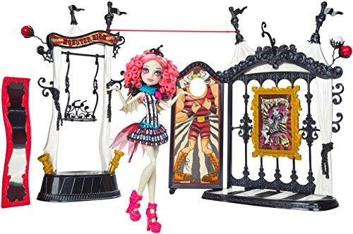 Monster High Mattel CHW68 - Schaurig schöne Show, Rochelle Goyle und Monster-Manege