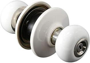 Nuzamas Ceramics Deurslot, deurslot met sleutelvergrendeling, deurgrepen voor buiten, slaapkamer, keuken, badkamer, waskam...