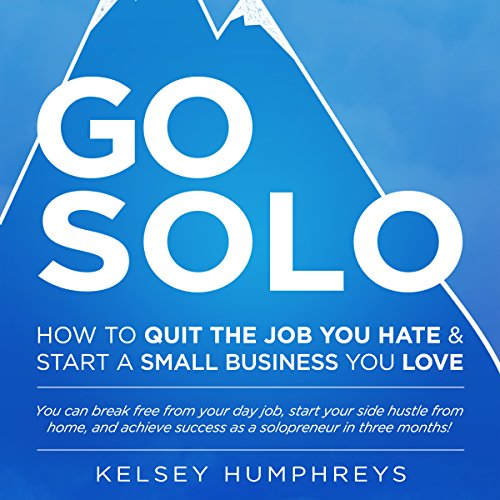 Go Solo audiobook cover art