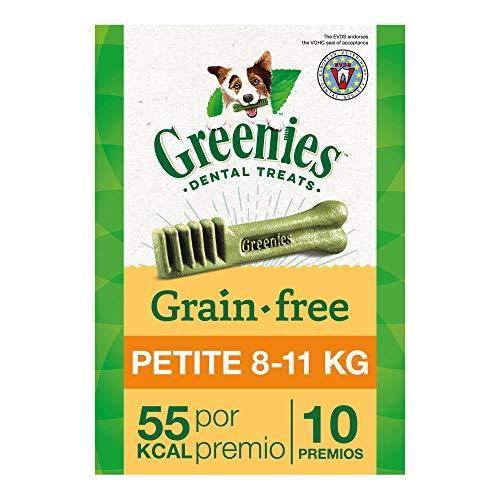 Greenies Snack Dental 100% Natural Grain free para perros Pequeños (Pack de 6 x 170g)