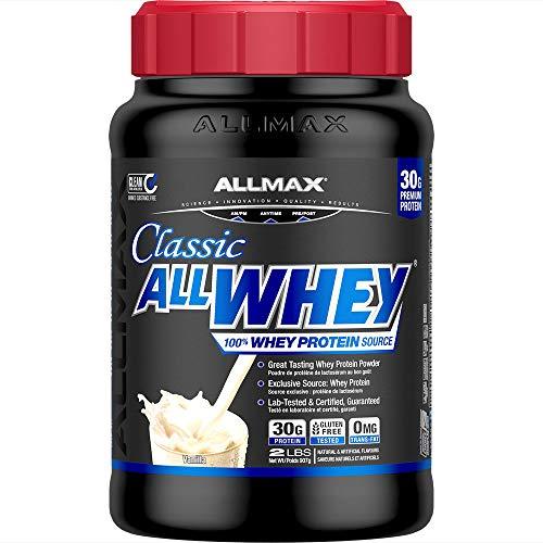 Allmax Nutrition Allwhey Vanilla Protein Powder 907g