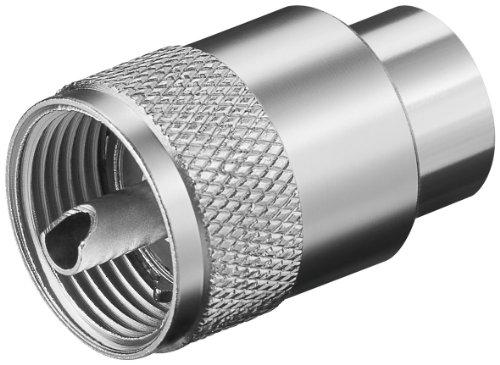 Wentronic - Conector para cable de antena (para cables RG-