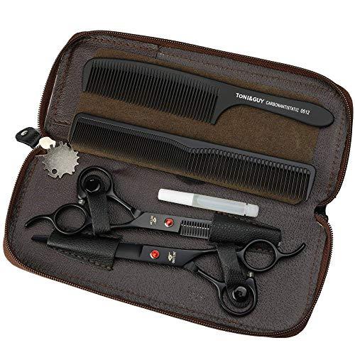 7 inch zwart titanium professionele kappersschaar, knipschaar en nagelschaar Mooie handtassen