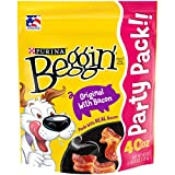 Purina Beggin' Strips Real Meat Dog Treats, Original With Bacon - 40 oz. Pouch