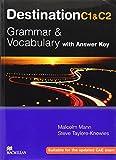 Destination Grammar C1 & C2: Student's Book with Key by Malcolm Mann (31-Jan-2008) Paperback