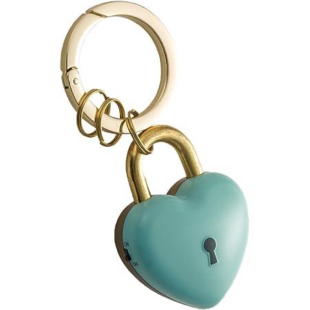 アスカ 防犯ブザー ハートの鍵 ミント GE078B ブルー