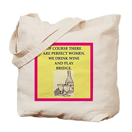 CafePress Bridge Natural Canvas Tote Bag, Cloth Shopping Bag