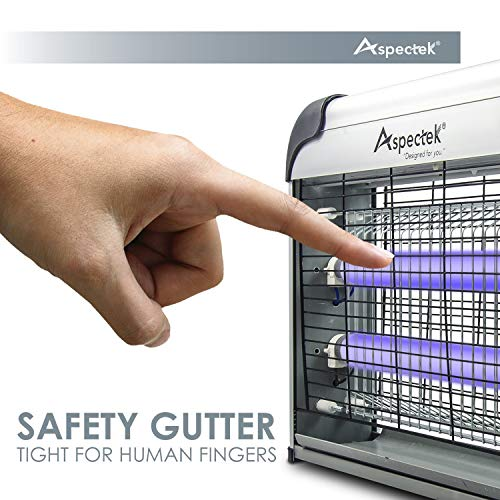 ASPECTEK Upgraded 20W Electronic Bug Zapper Insect Mosquito, Fly, Moth, Wasp Beetle & Other pests Killer for Indoor Residential & Commercial