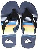 Quiksilver Molokai Layback, Zapatos de Playa y Piscina para Hombre, Azul (Black/Blue/Black Xkbk), 42 EU