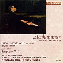 Piano Concerto, No. 1 / Fragment from Symphony, No. 3 by W. Stenhammar (2013-05-03)