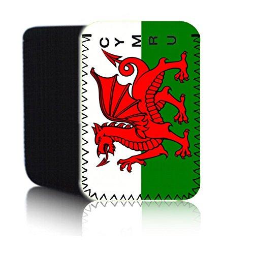 BIZEBEE 'Biz-E-Bee Walisische Flagge' (7HD) Schutz Neopren Tasche für Xiaomi Mi Pad 2–Stoßfest und wasserabweisend Abdeckung, Hülle, Tasche,–Schnell Schiff UK
