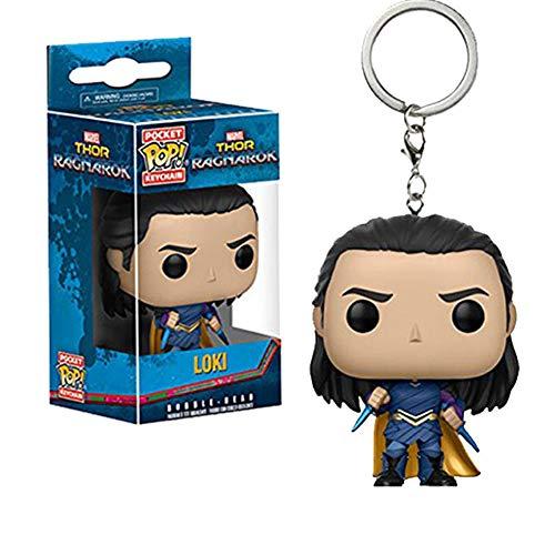LiQi Portachiavi Pop Funko Pop: Pendente Portachiavi Thor 3,Loki