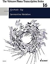 Summertime Variations- The Virtuoso Piano Transcription Series Band 16 piano