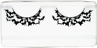 Emilystores Bat Costume Thunder Bat Halloween Fancy Fashion Costume Party Look Black Lace Lashes Paper Lashes False Eyelashes 1 Pair
