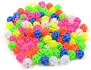 Happyupcity 1Bag of 36PCS Random Color Plastic Bicycle Spoke Beads Bike Tire Decorations Ornament Wheel Line Beads Small B...