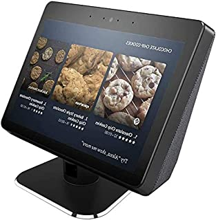 Aluminum Swivel Stand for Echo Show 2nd Adjustable Stand Make for Amazon Echo Show Horizontal 360 Rotation Longitudinal An...