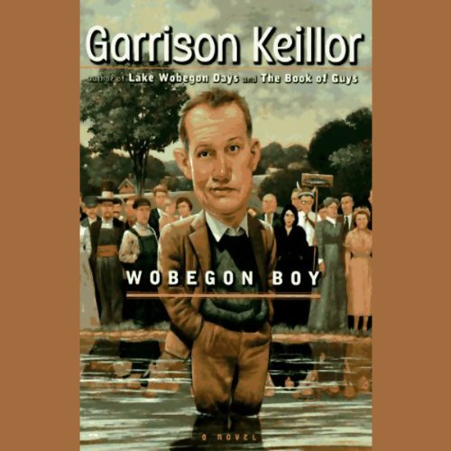 Wobegon Boy audiobook cover art