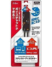Switch/PS5/PS4コントローラー用ステレオオーディオミキサー