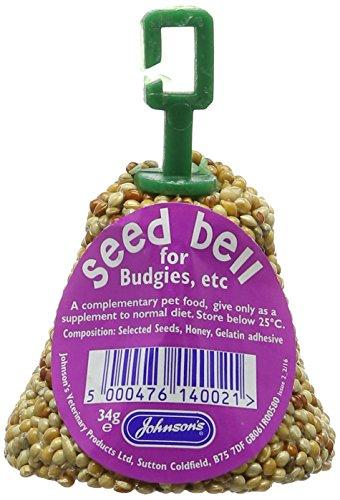 Johnson's Vet Budgie and Parakeet Seed Bells