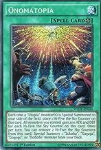 Yu-Gi-Oh! - Onomatopia (WSUP-EN024) - World Superstars - 1st Edition - Prismatic Secret Rare