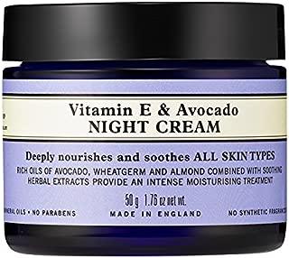 Niels's yard remedies vitamin E & Avocado Night Cream 50g