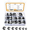60-Piece Viigrue Cable Clamps Assortment Kit