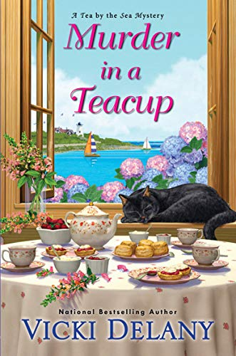 Murder in a Teacup (Tea by the Sea Mysteries Book 2) by [Vicki Delany]