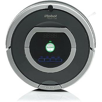 iRobot Roomba 782e Robot Aspirador, Alto Rendimiento de Limpieza, Programable, Limpia Varias Habitaciones, Atrapa el Pelo de Mascotas, 33 W, 61 Decibelios, Plata: Amazon.es: Hogar