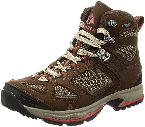 Vasque Women's Breeze III GTX Waterproof Hiking Boot, Slate Brown/Tandori Spice, 10 C/D US