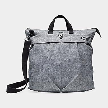 Helmet Bag in Grey by John Sencion for MoMA - MoMA Exclusive