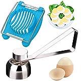 WENTS Coupe-œuf +Trancheuse d'oeufs-bouillis Oeufs Outils Couleur aléatoire