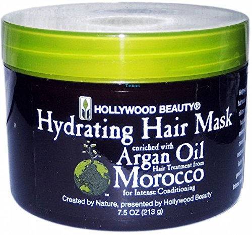Hollywood Beauty Huile d'Argan Masque capillaire, 7,5 oz