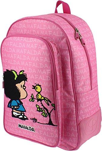 Grafoplás 37500149-Mochila escolar diseño Mafalda Pajarito