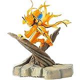 Qwead Figura De Acción De Naruto Shippuden Uzumaki War Sennin 20Cm, Decoración De PVC Y Abs, Estatua del Hogar, Figuras De Anime, Juguetes De Modelos Coleccionables