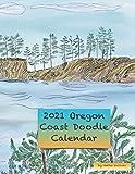 2021 Oregon Coast Doodle Calendar