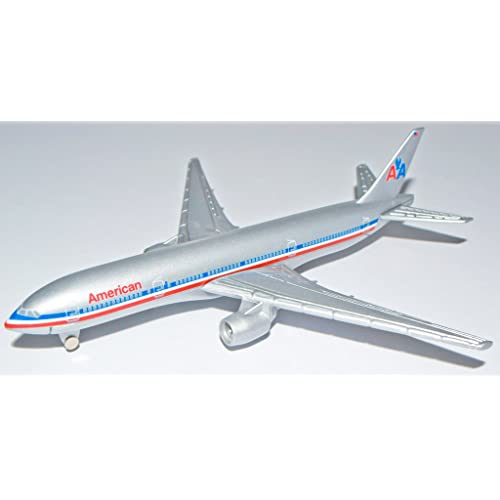 300 line AA scale 1 Amaerican Airlines Boing 777-200 New Ray 20343 Skypilot Airplane For Passengers
