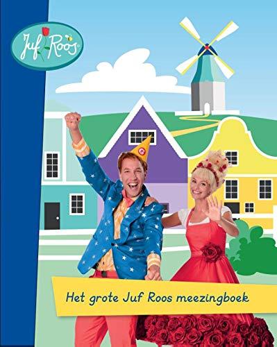 Het grote Juf Roos meezingboek: Boek met CD
