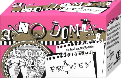 ABACUSSPIELE 09992 - Anno Domini - Frauen, Quizspiel, Schätzspiel, Kartenspiel