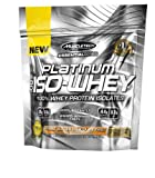 Muscletech Essential Series Platinum 100% Iso Whey Supplement, Peanut Butter Chocolate Twist, 3 Servings