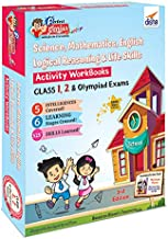 Perfect Genius Junior Activity Workbooks for Science, Mathematics, English, Logical Reasoning & Life Skills for Class 1, 2 & Olympiad Exams