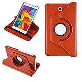 COOVY 2.0 Funda para Samsung Galaxy Tab 4 7.0 SM-T230 SM-T231 SM-T235 Smart 360º Grados ROTACIÓN Cover Case Protectora Soporte | Naranja