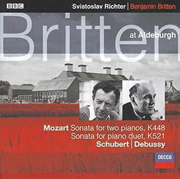 リヒテル&ブリテン ピアノ・デュオI