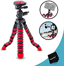 """12"""" Inch Flexible Tripod with Quick Release Plate for Nikon Coolpix S6800, S6500, S6400, S6300, S6200, S6150, S6100, S6000..."""