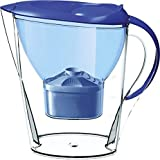 CAPTOLIFE Plastic Alkaline Water Jug/Pitcher , 4 L, Blue