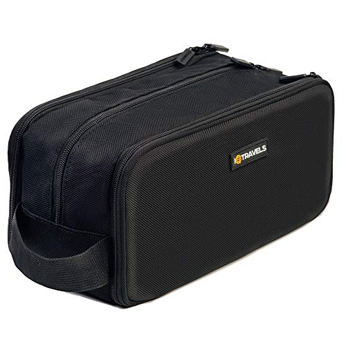 Dopp Kit (12 Inches) 3 Compartments + Waterproof Bag – Easy Organization...