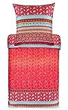 Bassetti Otello R1 - Biancheria da letto in raso makò, 1 copripiumino 240 x 220 cm + 2 federe 80 x 80 cm